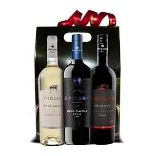 3 Bottle Epicuro Wine Hamper image